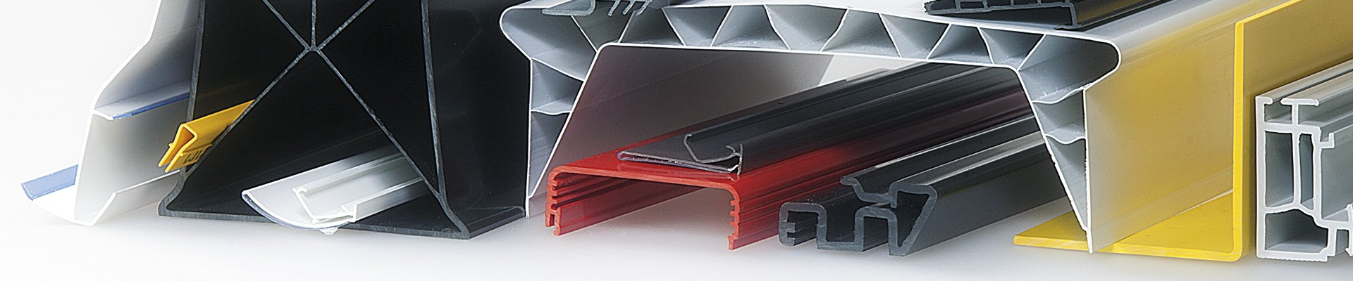 Standard plastic profiles in stock