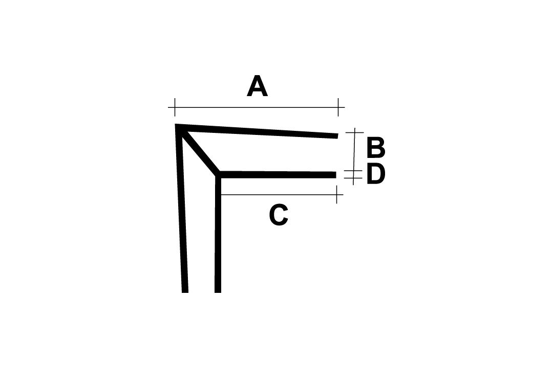 Inside/Outside Angle For Wall Cladding